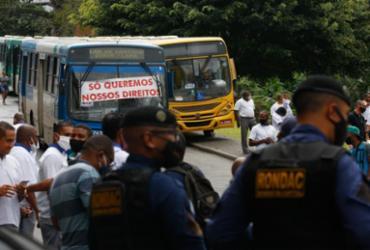 Rodoviários fazem manifestação na Lapa após atraso de pagamento de acordo trabalhista |