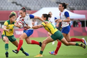 Seleção feminina perde por 41 a 5 para Fiji e é eliminada | Greg Baker | AFP