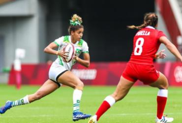 Brasil estreia no rúgbi feminino com derrota por 33 a 0 para o Canadá | Divulgação | Time Brasil