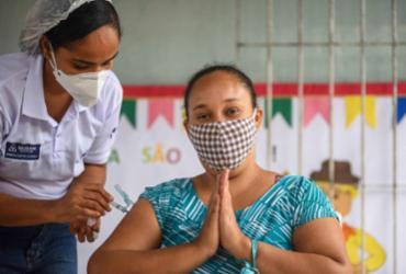 Salvador completa seis meses de imunização com 63% de vacinados | Bruno Concha | Secom