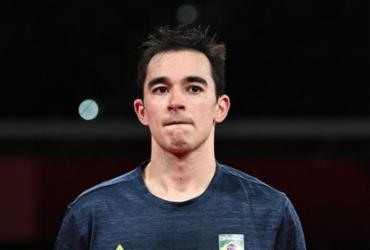 Tênis de mesa: Hugo Calderano faz história e está nas quartas de final | Anne-Christine Poujoulat | AFP