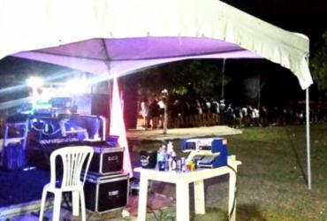 PM encerra festa clandestina com 250 pessoas em Vitória da Conquista