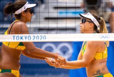 Vôlei de praia: Ana Patricia e Rebecca perdem para dupla da Letônia | Miriam Jeske | COB