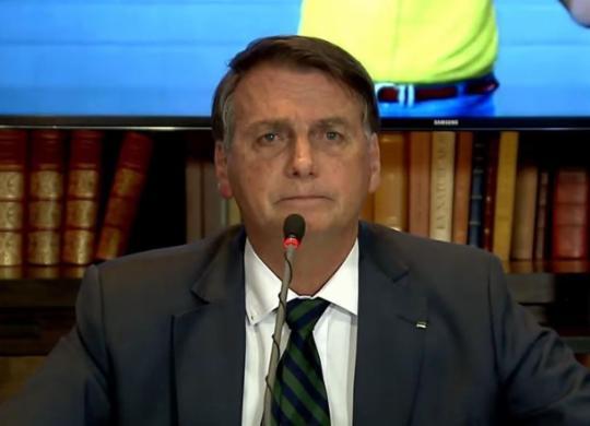 Bolsonaro ataca a segurança das urnas eletrônicas, mas nada prova | Reprodução | TV Brasil