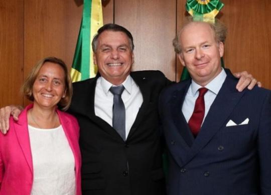 Comunidades judaicas criticam encontro de Bolsonaro com deputada alemã de extrema direita   Reprodução