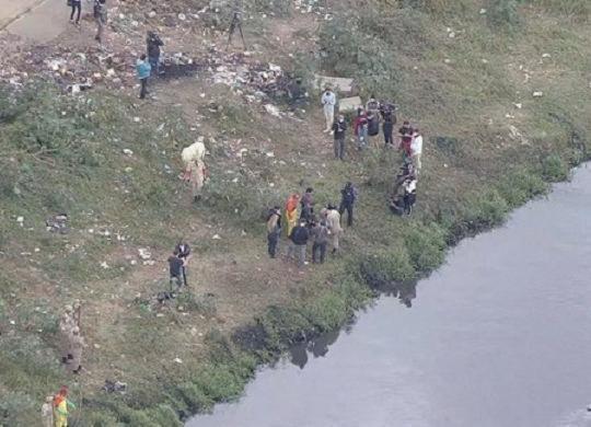 Polícia acha ossada que pode ser de meninos desaparecidos em Belford Roxo | Reprodução | TV Globo