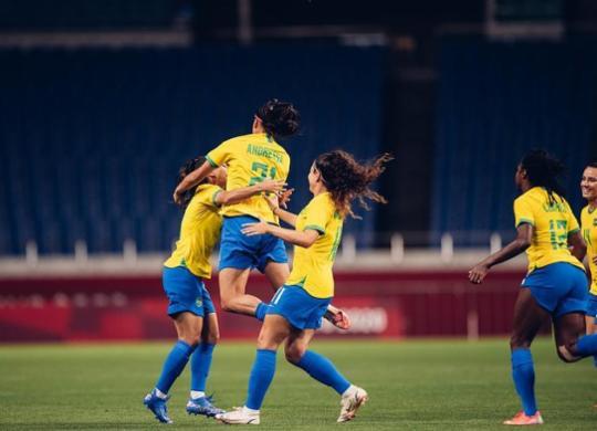 Futebol feminino: Brasil vence Zâmbia e enfrenta o Canadá nas quartas | Divulgação | CBF