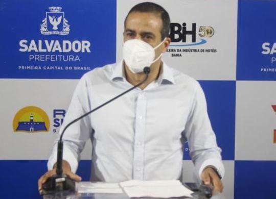 Bruno Reis critica retenção de vacinas pelo Ministério da Saúde | Bruno Concha/Secom