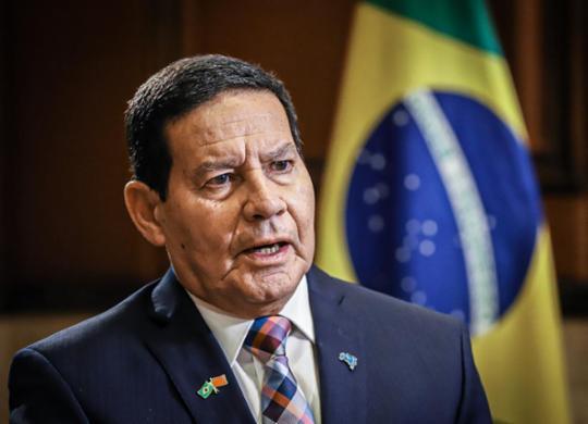 Após ser aconselhado a renunciar, Mourão diz que segue no governo 'até o fim' | Divulgação