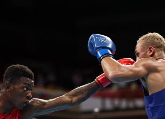 Boxe: baiano Keno Marley é eliminado das Olimpíadas em decisão polêmica | Buda Mendes | POOL | AFP