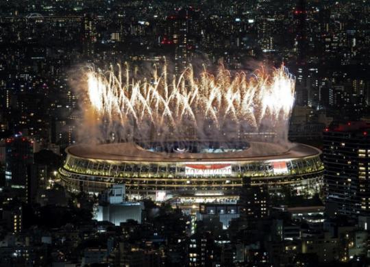 Cerimônia abre Olimpíadas de Tóquio sem público | AFP