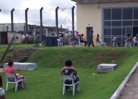 Governo do Estado autoriza retorno das visitas sociais nas Unidades Prisionais | Divulgação | Seap