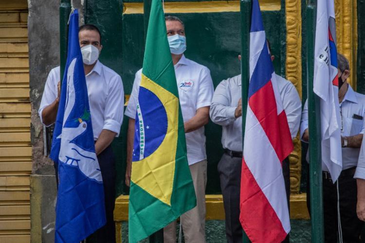 O evento foi realizado presencialmente, mas com restrições, devido a pandemia da Covid-19   Foto: Uendel Galter   Ag. A TARDE - Foto: Uendel Galter   Ag. A TARDE