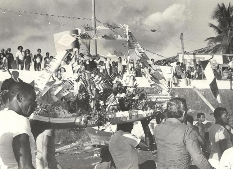 Em 1980, os pescadores voltaram a ter protagonismo nas homenagens || 27.7.1980