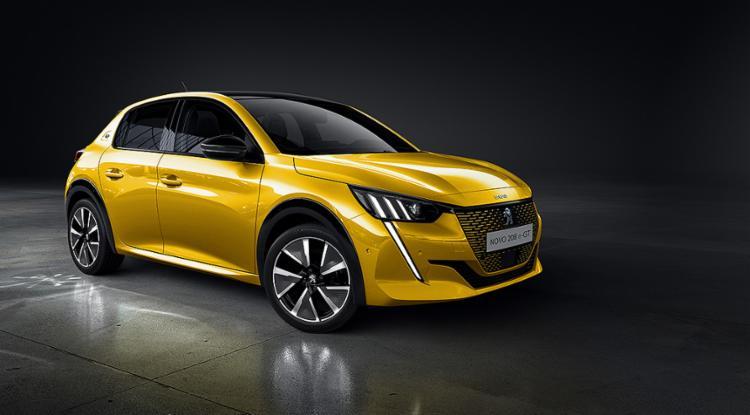 Esperada versão elétrica do Peugeot 208, a e-GT