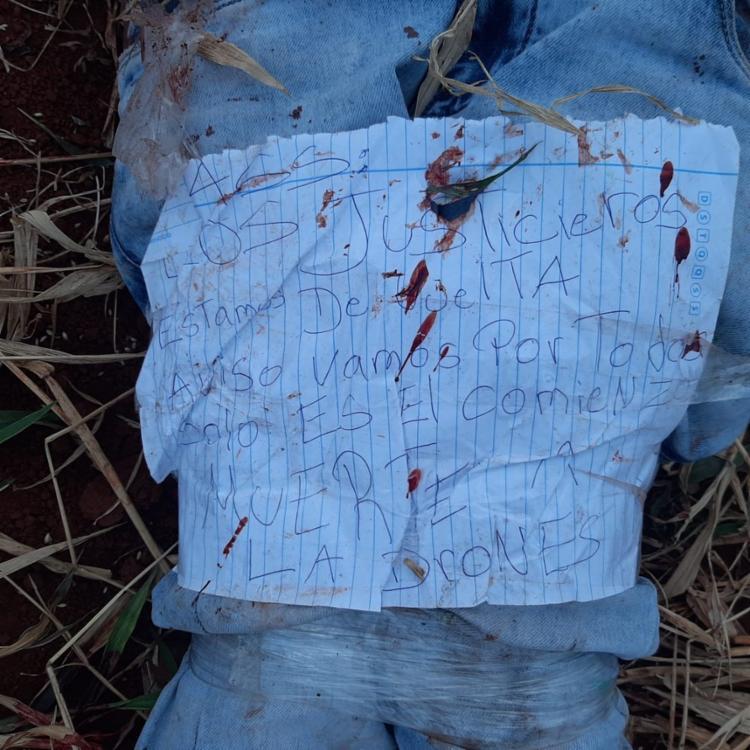 Pele entre o tórax e o pescoço foram arrancados por animal | Foto: Reprodução/ Facebook - Foto: Reprodução/ Facebook