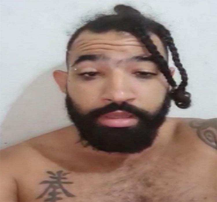 Homem foi apresentado na sede da 4ª Coorpin, onde foi cumprido o mandado de prisão preventiva   Foto: Reprodução - Foto: Reprodução