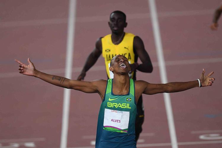 Alison é a maior esperança de medalha do atletismo brasileiro em Tóquio   Foto: Pedro Pardo   AFP - Foto: Pedro Pardo   AFP