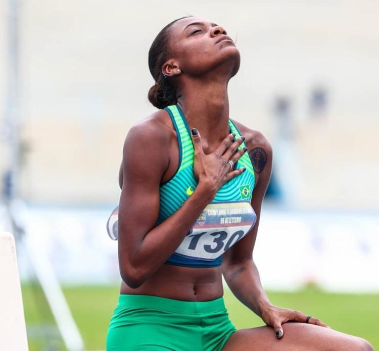 Chayenne lamentou a performance e ratificou que os olhares estão voltadas para a Olimpíada de Paris, em 2024   Foto: Wagner Carmo   CBAt - Foto: Wagner Carmo   CBAt