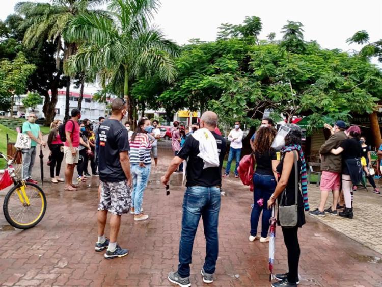 Em Alagoinhas ato teve início na Praça da Bandeira | Foto: Divulgação