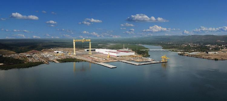 A concessão permite a operação como porto no escoamento de minério de ferro, ampliando os negócios para além do setor naval e industrial   Foto: Divulgação   Odebrecht - Foto: Divulgação   Odebrecht
