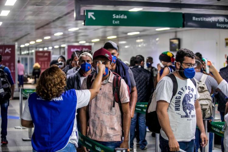 Piloto já estava em voo e decidiu retornar ao aeroporto | Foto: Marco Santos / Ag.Pará - Foto: Marco Santos / Ag.Pará