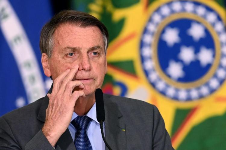 Bolsonaro também recuou nas críticas feitas ao vice-presidente Hamilton Mourão   Foto: Evaristo Sá   AFP - Foto: Evaristo Sá   AFP