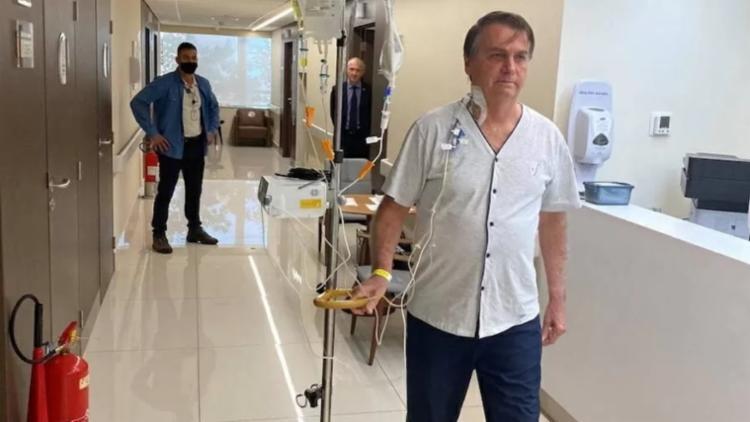 Presidente evoluiu em tratamento de obstrução intestinal   Foto: Reprodução   Instagram - Foto: Reprodução   Instagram
