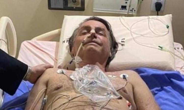 Presidente publicou foto internado em hospital   Foto: Reprodução   Instagram - Foto: Reprodução   Instagram