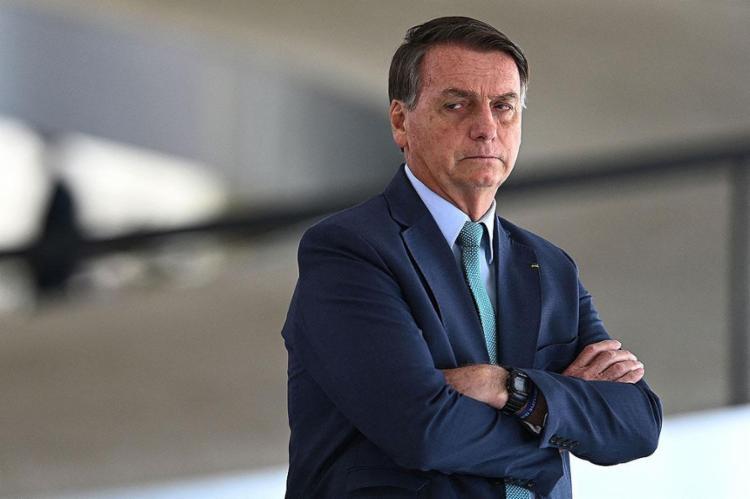 O chefe do Executivo federal voltou a defender eleições limpas e auditáveis por meio do voto impresso | Foto: Evaristo Sa | AFP - Foto: Evaristo Sa | AFP