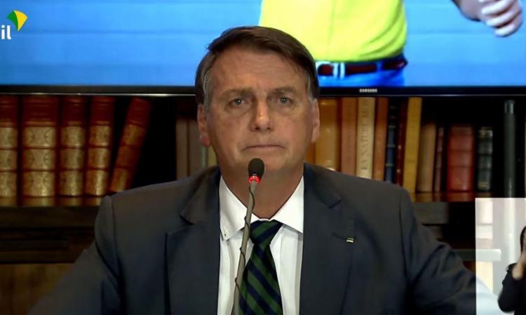 A Rede Sustentabilidade pediu ao STF que proibisse Bolsonaro de falar em fraude nas urnas sem apresentar provas   Foto: Reprodução   TV Brasil - Foto: Reprodução   TV Brasil