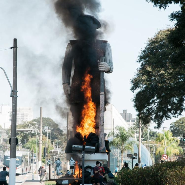 Prefeitura paulista afirmou que as polícias Civil e Militar já atuam na investigação | Reprodução/ Instagram - Foto: Reprodução/ Instagram
