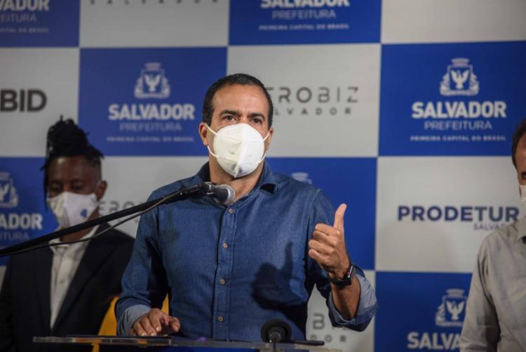 Apesar da cautela, prefeito de Salvador diz que números são