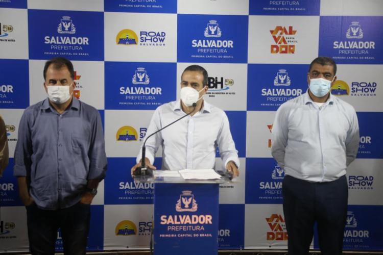 De acordo com o gestor, a medida tem atrapalhado na imunização na capital baiana - Foto: Bruno Concha/Secom
