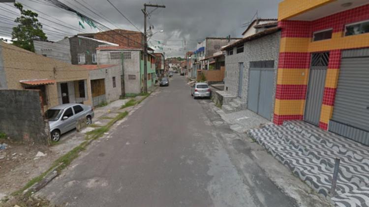 Ele foi localizado na rua Maria Emília, em Camaçari de Dentro | Reprodução / Google - Foto: Reprodução / Google