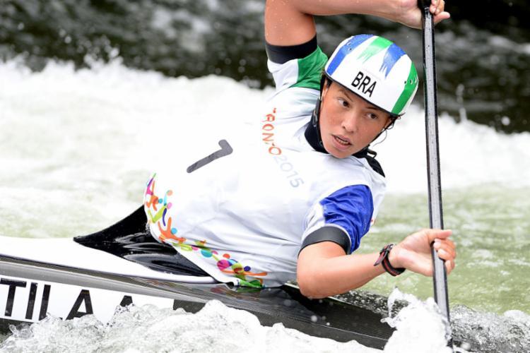 Ana é a primeira atleta do Brasil a pisar em solo japonês para esta olimpíada | Foto: Reprodução - Foto: Reprodução
