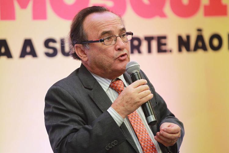 Carlos de Souza Andrade, presidente da Federação do Comércio do Estado da Bahia | Foto: Carol Garcia | Gov-BA | 23.2.2016 - Foto: Carol Garcia | Gov-BA | 23.2.2016