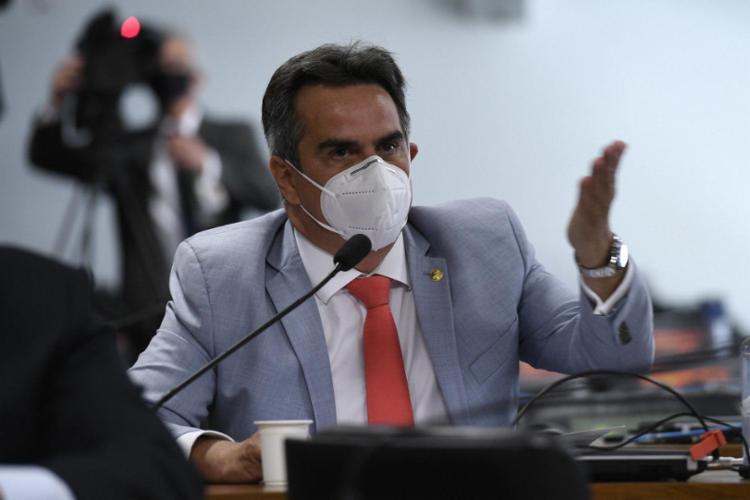 O novo ministro da Casa Civil, Ciro Nogueira, apresentou texto aos presidentes do Senado e da Câmara | Foto: Agência Senado | Divulgação - Foto: Agência Senado | Divulgação