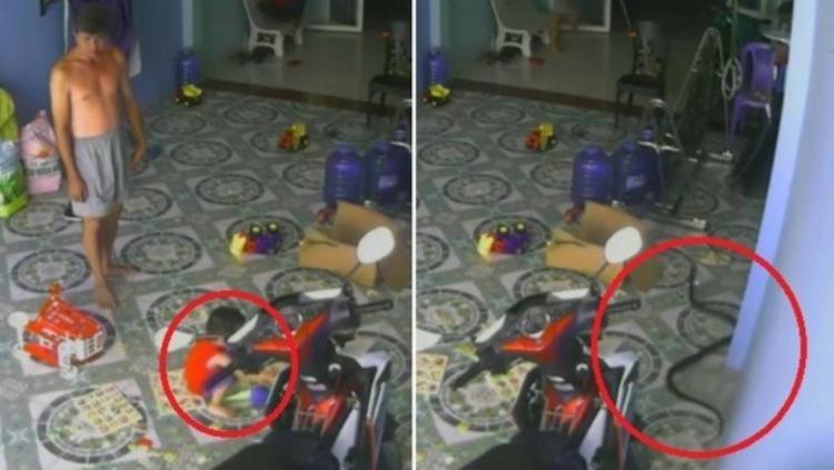 Animal aparece surpreendentemente indo na direção da criança | Foto: Reprodução | Youtube - Foto: Reprodução | Youtube