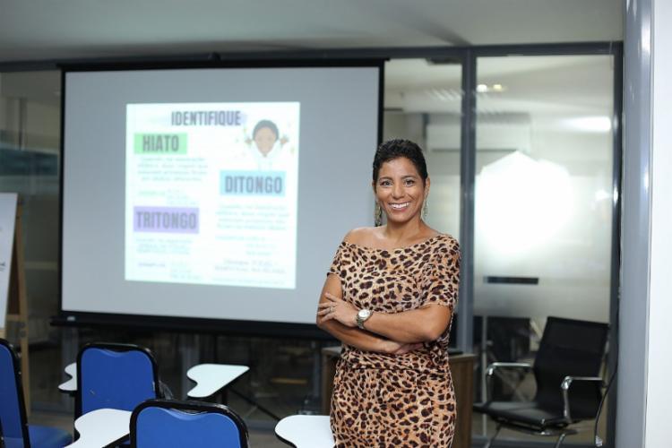 Formada em marketing, Jessika Vasconcelos, 30, prepara-se para fazer as provas do Banco do Brasil. - Foto: Foto - Divulgação