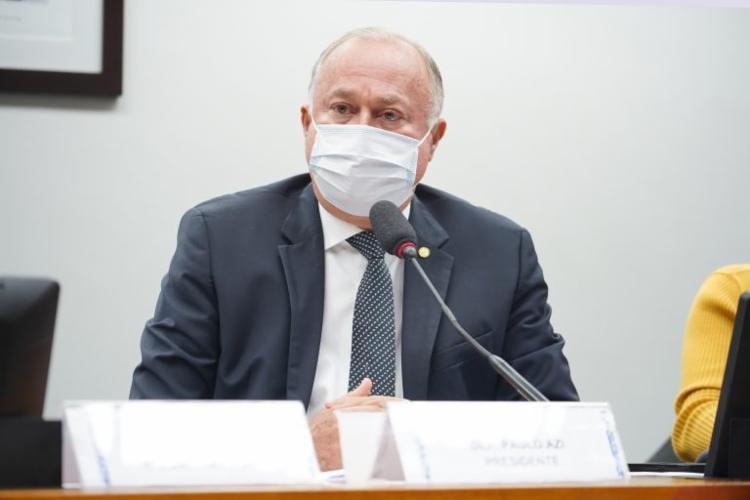 Paulo Azi autorizou também abertura de processo contra Luis Miranda (DEM), que denunciou esquema da compra da vacina Covaxin   Foto: Pablo Valadares/Câmara dos Deputados - Foto: Pablo Valadares/Câmara dos Deputados