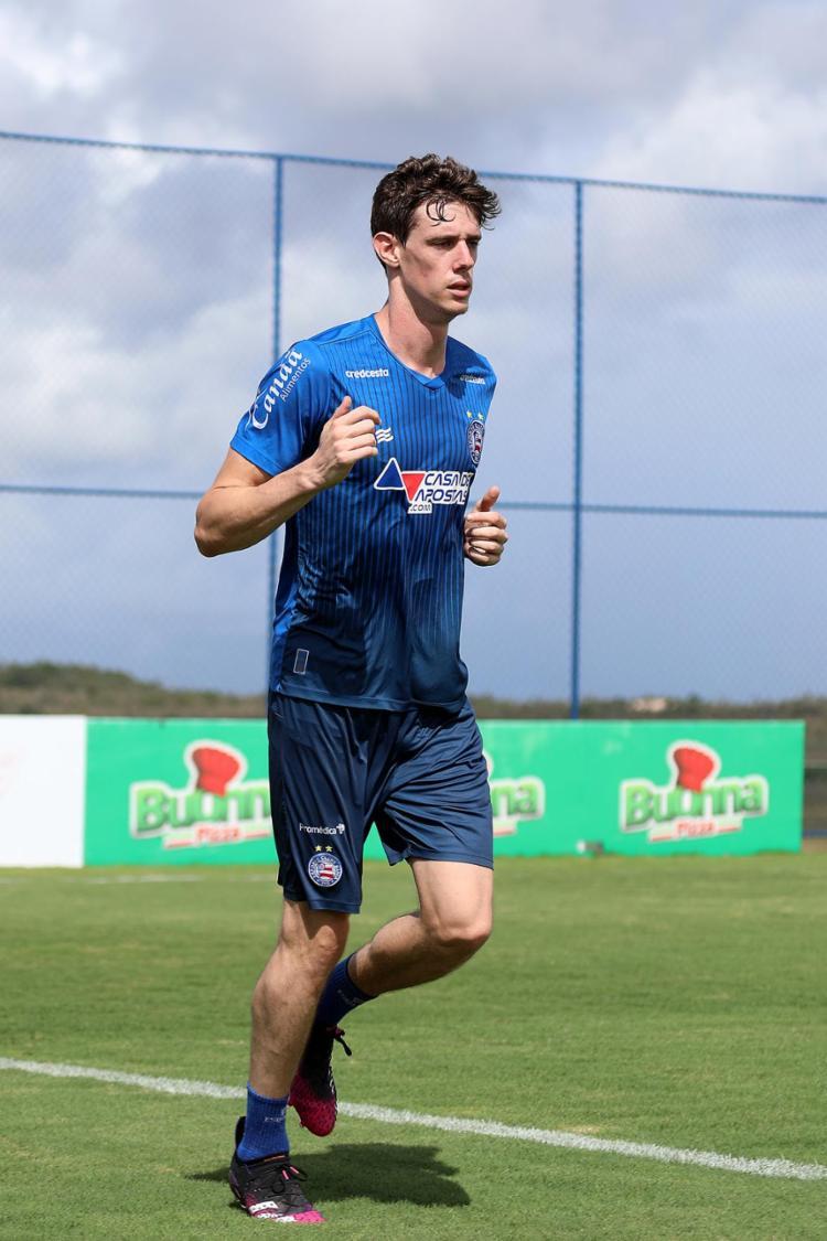 Após cinco jogos fora, Conti terá a semana toda para aprontar a volta   Foto: Felipe Oliveira   EC Bahia - Foto: Felipe Oliveira   EC Bahia