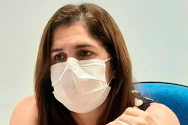 Secretária de Saúde adverte que população deve continuar com o uso da máscara, utilizar álcool gel e manter distanciamento social |Foto: Divulgação - Foto: Divulgação