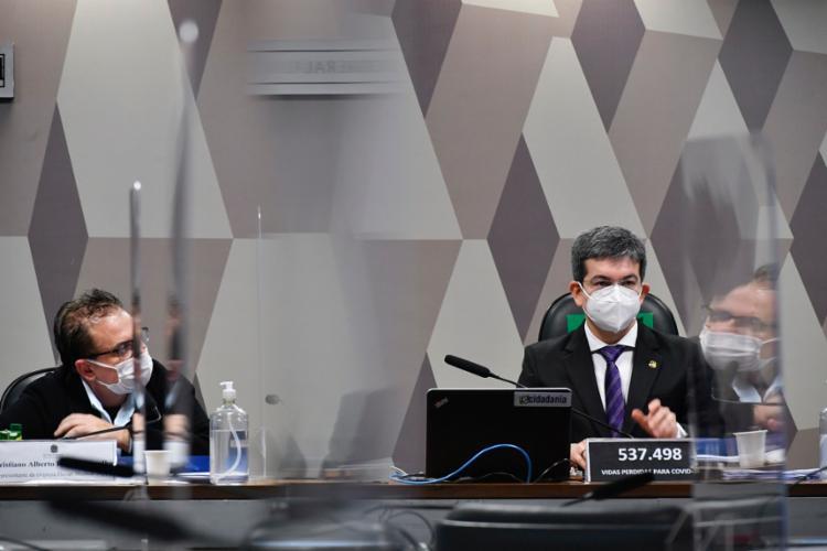 O grupo majoritário da comissão pretender dividir as investigações entre seus membros   Foto: Leopoldo Silva   Agência Senado - Foto: Leopoldo Silva   Agência Senado