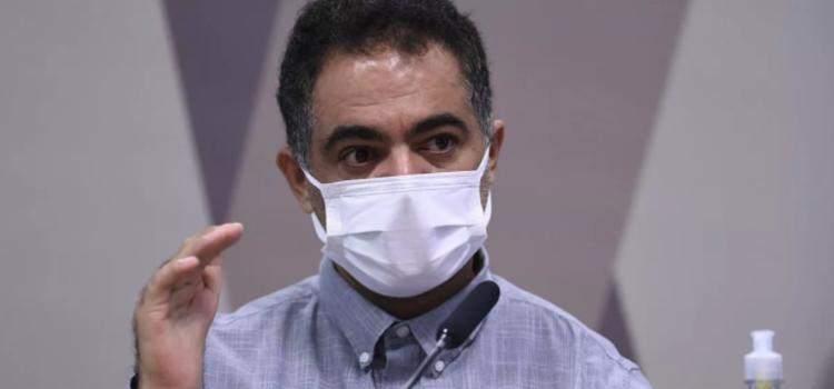 William Santana contou que Luis Miranda relatou sofrer pressões para acelerar a negociação para aquisição da Covaxin | Foto: Edilson Rodrigues I Ag. Senado - Foto: Edilson Rodrigues I Agência Senado