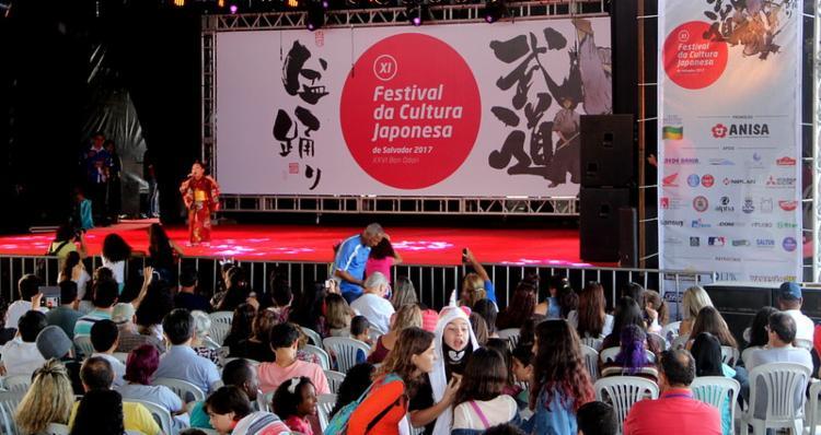 O Festival de Cultura Japonesa ocorre anualmente desde 2007 | Foto: Divulgação | Bon Odori