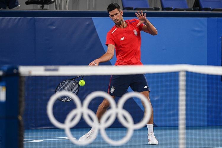 Número 1 do ranking da ATP, Djokovic vai encarar na estreia o boliviano Hugo Dellien | Foto: Vincenzo Pinto | AFP - Foto: Vincenzo Pinto | AFP