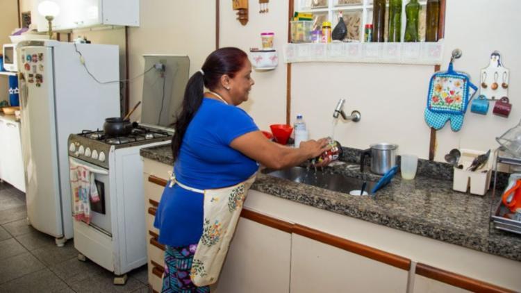 Evento é realizado pela Federação Nacional das Trabalhadoras Domésticas | Foto: Licia Rubinstein/Agência IBGE Notícias - Foto: Licia Rubinstein/Agência IBGE Notícias