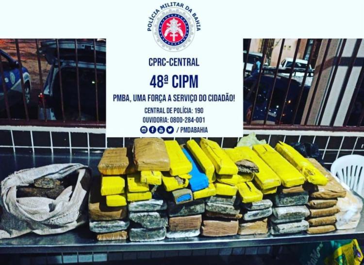 Material foi encaminhado à Central de Flagrantes | Foto: Divulgação / SSP - Foto: Divulgação / SSP