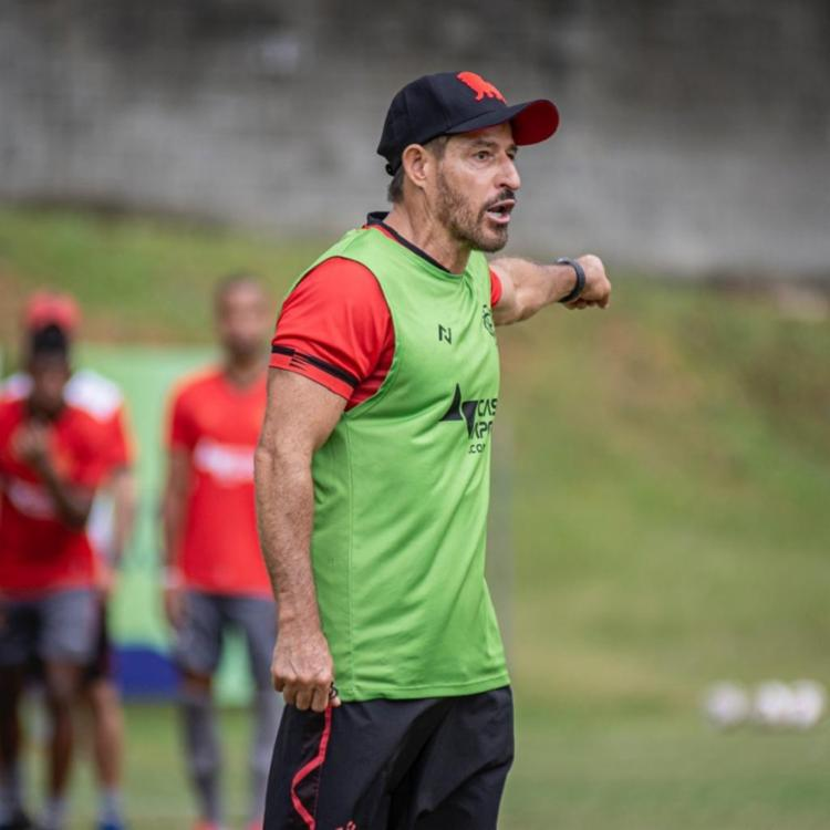 Ramon afirmou que não costuma lamentar ausência de jogador | Foto: Pietro Carpi | EC Vitória - Foto: Pietro Carpi | EC Vitória